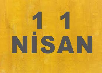 11 Nisanda Doğanlar
