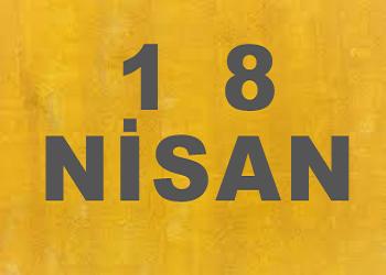 18 Nisanda Doğanlar